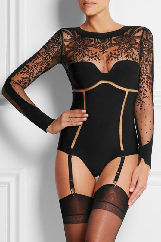 Whether you are aware of lingerie's power and magnetic appeal and seek to be as alluring as possible or you use lingerie to enhance your natural beauty, seduce, dominate or emphasize your ...